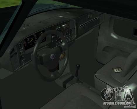Saab 900 Turbo 1989 v.1.2 para GTA San Andreas vista superior