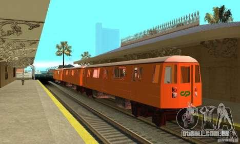 Liberty City Train CP para GTA San Andreas
