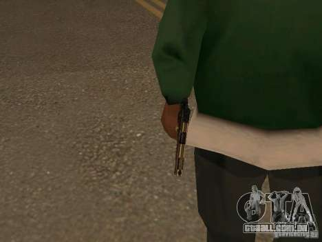 Pistola 9 mm para GTA San Andreas terceira tela