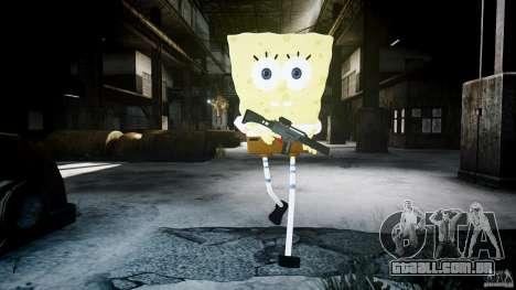 Bob Esponja para GTA 4 nono tela