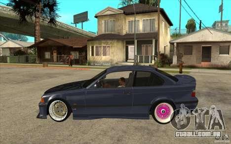 BMW E36 M3 Street Drift Edition para GTA San Andreas esquerda vista