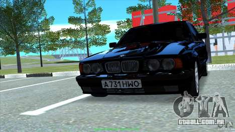BMW E34 V1.0 para GTA San Andreas vista direita