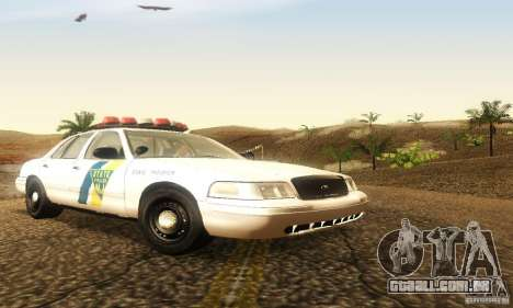 Ford Crown Victoria New Jersey Police para GTA San Andreas