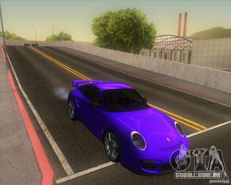 Porsche 911 GT2 (997) para GTA San Andreas vista interior