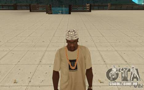 Letras de kitay bandana para GTA San Andreas
