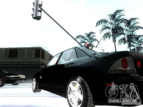 Lexus IS300 para GTA San Andreas vista inferior