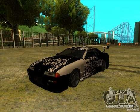 Pak vinis para padrão Elegy para GTA San Andreas
