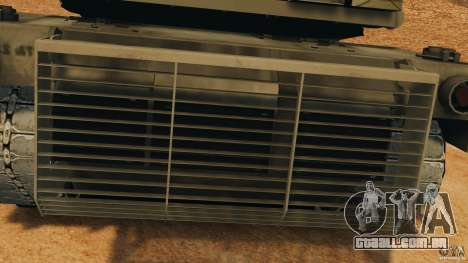 M1A2 Abrams para GTA 4 vista lateral