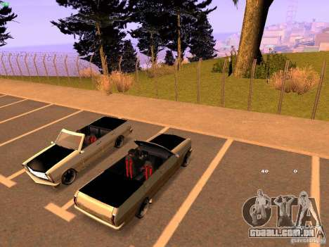 New Perennial para GTA San Andreas vista direita