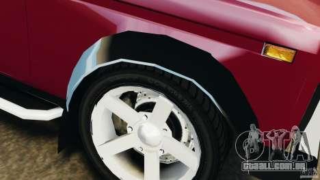 VAZ 21214 Niva (Lada 4x4) para GTA 4 rodas
