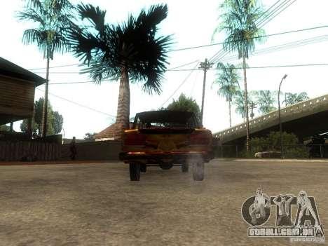 2106 VAZ do jogo STALKER para GTA San Andreas traseira esquerda vista