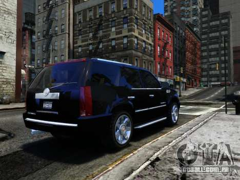 Cadillac Escalade v3 para GTA 4 vista direita