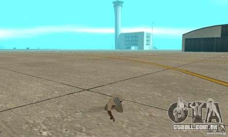Actdead para GTA San Andreas terceira tela