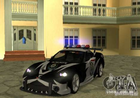Chevrolet Cross Corvette C6 para GTA San Andreas