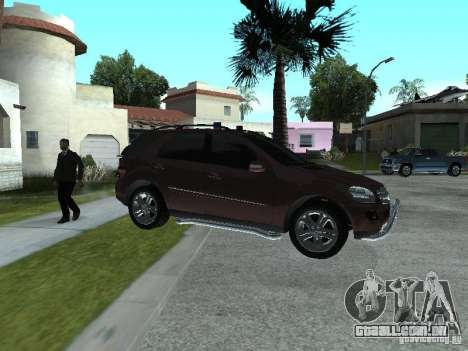 Mercedes-Benz ML500 para GTA San Andreas esquerda vista