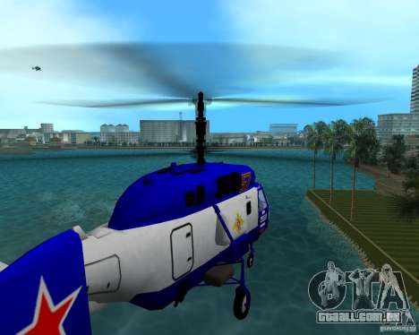 Ka-27 para GTA Vice City deixou vista