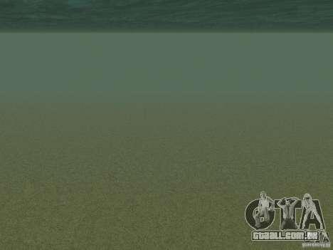 Água nova para GTA San Andreas segunda tela