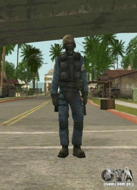 Counter-terrorist para GTA San Andreas quinto tela