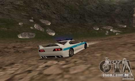 Jester Russian Police para GTA San Andreas vista interior
