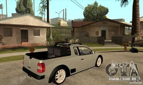 Volkswagen Saveiro G5 para GTA San Andreas vista direita