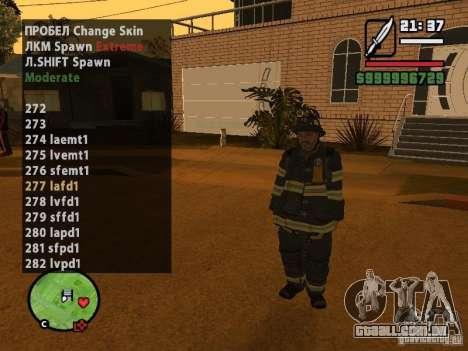 GTA IV peds to SA pack 100 peds para GTA San Andreas por diante tela