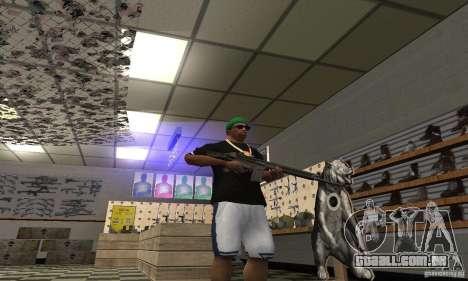 Heckler & Koch HK-33 para GTA San Andreas terceira tela