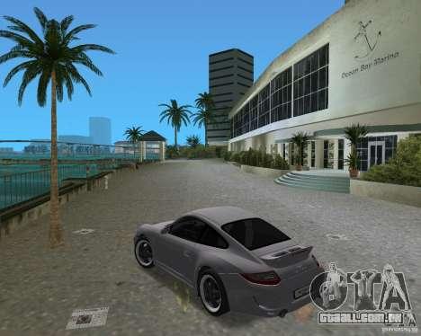 Porsche 911 Sport para GTA Vice City vista direita