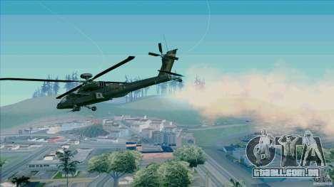 Armadilhas de calor para caçador para GTA San Andreas segunda tela