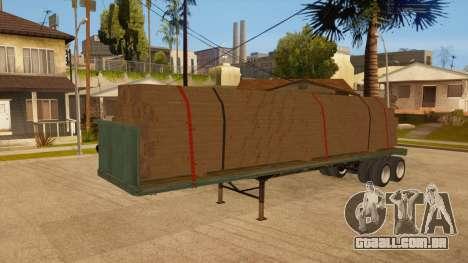 Rede de arrasto para GTA San Andreas vista superior