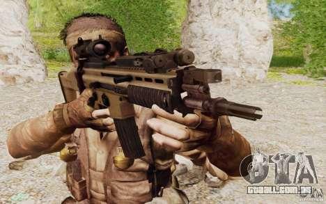 FN Scar L para GTA San Andreas segunda tela