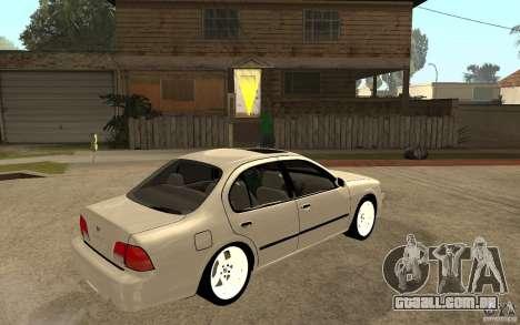 Nissan Maxima 1998 para GTA San Andreas vista direita