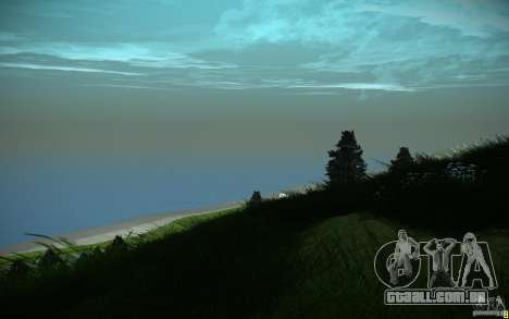 ENB Black Edition para GTA San Andreas quinto tela