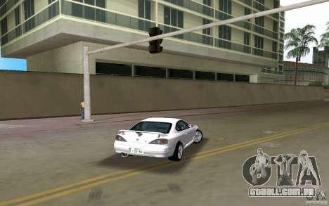 Nissan Silvia spec R Light Tuned para GTA Vice City deixou vista