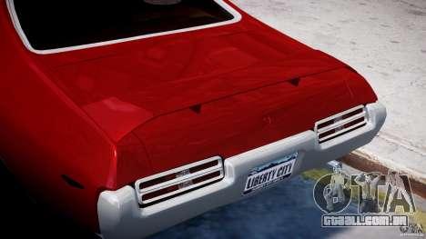 Pontiac GTO 1965 v1.1 para GTA 4 vista inferior