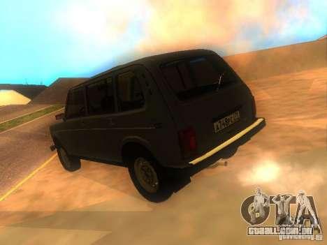 Vaz 2131 NIVA para GTA San Andreas esquerda vista