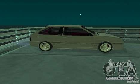 VAZ 2113 ADT Art Tuning para GTA San Andreas esquerda vista
