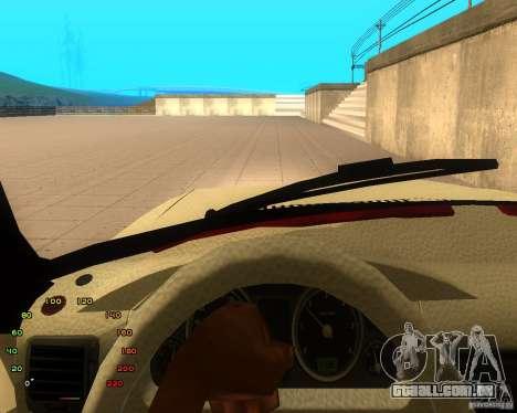 Gaz Volga 2410 el Cabrio para GTA San Andreas vista traseira