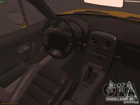 Mazda MX-5 1997 para GTA San Andreas vista interior