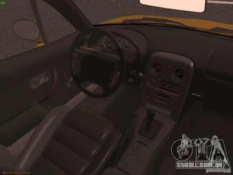 Mazda MX-5 1997 para GTA San Andreas vista interior
