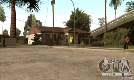 GTA SA Enterable Buildings Mod para GTA San Andreas quinto tela
