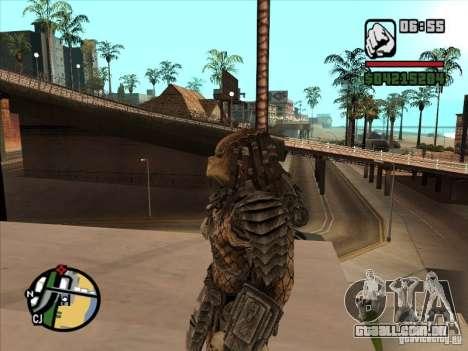 Predador Predator para GTA San Andreas segunda tela
