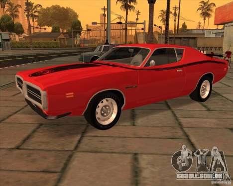 1971 Dodge Charger Super Bee para GTA San Andreas
