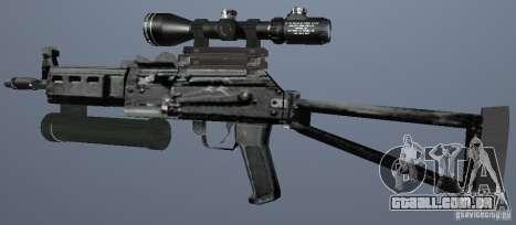 Pistola-metralhadora Bizon para GTA San Andreas segunda tela