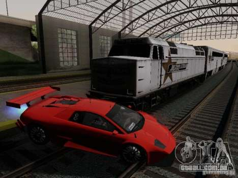 Crazy Trains MOD para GTA San Andreas segunda tela