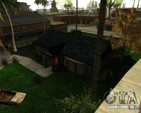 New Ryder House para GTA San Andreas terceira tela