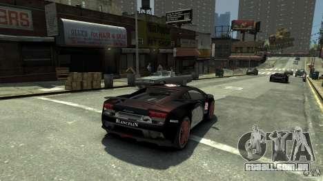 Lamborghini Gallardo SE Threep Edition [EPM] para GTA 4 esquerda vista
