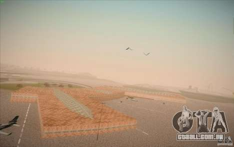 New San Fierro Airport v1.0 para GTA San Andreas sexta tela