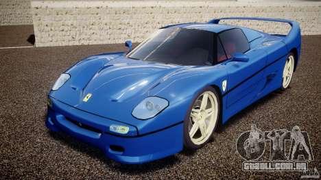 Ferrari F50 Spider v2.0 para GTA 4