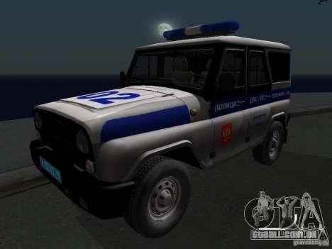 UAZ-315195 caçador de polícia para GTA San Andreas