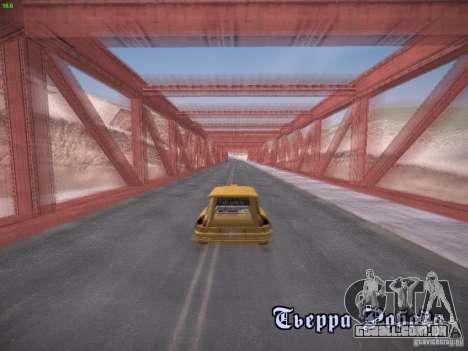 Renault 5 Turbo para GTA San Andreas vista direita